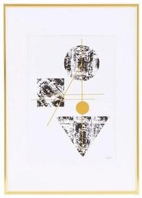 Tablou cu Rama Aurie - Aluminiu Auriu M-lungime(42cm) x latime(29.7cm)