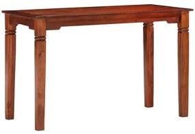 286256 vidaXL Masă de bucătărie, 120 x 60 x 76 cm, lemn masiv de acacia