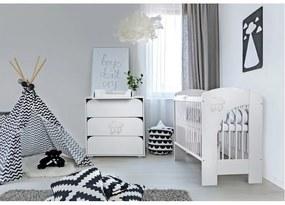 Klups - Mobilier camera copii si bebelusi Nel Cloud, Alb