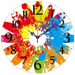 Ceas pentru perete Alejandro, ø 40 cm