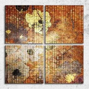 Tablouri living 100x100 cm - Nostalgie florala