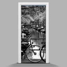 Autocolant de uși Peisaj Olanda