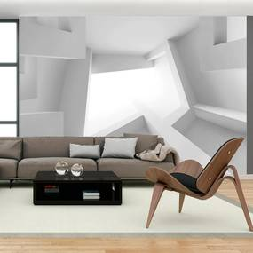 Fototapet Bimago - White room + Adeziv gratuit 350x245 cm