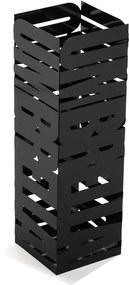 Suport metalic pentru umbrele Versa Unbrella, înălțime 49 cm, negru
