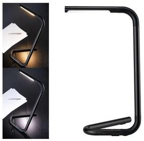 Lampă de masă tactilă dimabilă Paulmann 95424LED/4,5W FLEXLINK 5V/USB neagră