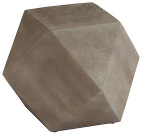 246094 vidaXL Masă laterală, beton, 40 x 40 x 40 cm