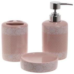 Set de baie 3 piese Pink Elegance