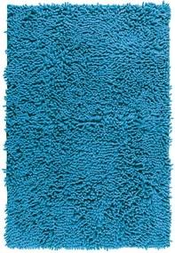 Covor baie Wenko Chenille, 80 x 50 cm, albastru