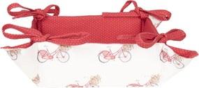Cos paine bumbac Bike 35 cm x 35 cm x 8 cm