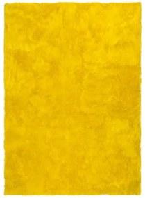 Covor Universal Nepal Liso Amarillo, 60 x 110 cm, galben