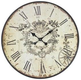 Ceas din lemn pentru perete George Thorold 80 cm