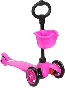Trotineta multifunctionala 3 in 1 Scooter Pink