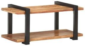 320495 vidaXL Comodă TV, 90 x 40 x 40 cm, lemn masiv de acacia