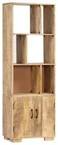 247481 vidaXL Bibliotecă, 60 x 35 x 180 cm, lemn masiv de mango