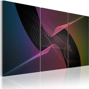 Tablou Bimago - Modern Abstraction - Colors 60x40 cm