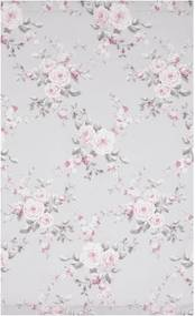 Set 2 draperii Catherine Lansfield Canterbury Rose, 168 x 183 cm
