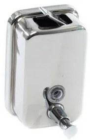 Dispenser inox sapun lichid 500ml Sidef