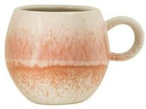 Cană din ceramică Bloomingville Paula, 240 ml, portocaliu