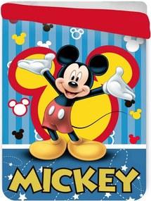 Pătură matlasată pentru copii Mickey Mouse, 180 x 260 cm