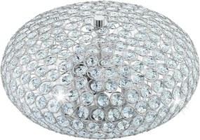 Eglo 95284 - Cristal Plafoniera CLEMENTE 2xE27/60W/230V