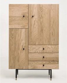 Dulap din lemn 142 cm Jugend Woodman