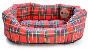 Culcuş pentru câine SCOTTY mărime M - 65 x 50 cm