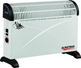 Albatros Convector electric CT-21TURBO, 2000 W, ventilator lateral