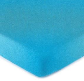 Cearşaf 4Home jersey, albastru, 160 x 200 cm, 160 x 200 cm