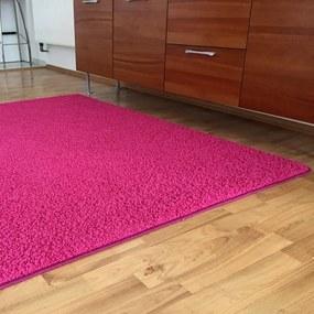 Covor SHAGGY roz 140 x 200 cm