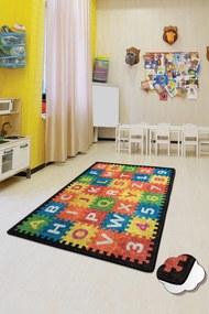 Covor pentru copii Puzzle - 100 x 160 cm