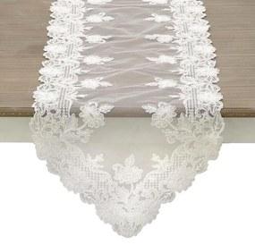 Napron din dantela White 40 x 150 cm
