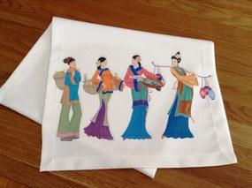 Napron Japanese Girls 45 x 140 cm
