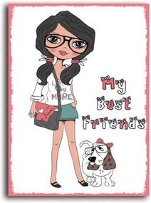 Tablou CARO - Best Friends 30x40 cm