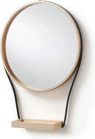 Oglinda din lemn si metal Barlow La Forma