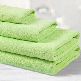 Goldea prosoape de mâini și prosoape  de baie din terry nela - verde deschis 30 x 50 cm