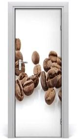 Autocolante pentru usi Boabe de cafea