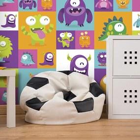 Tapet Bimago - Lovely Monsters + Adeziv gratuit rulou 50x1000 cm