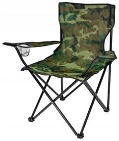 Scaun pliabil camping Army
