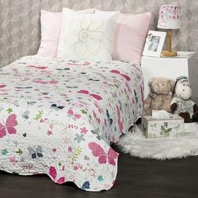 Cuvertură de pat pentru copii 4Home Butterfly, 140 x 200 cm