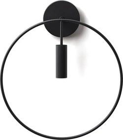 Revolta 3000 K - Aplică neagră înglobată intr-un cerc purtător