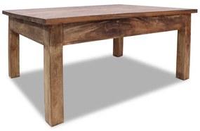 244493 vidaXL Măsuță de cafea, lemn masiv reciclat, 98x73x45 cm
