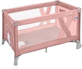 Patut pliabil Baby Design Simple 08 Pink 2019