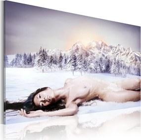 Tablou - Snow queen 60x40 cm