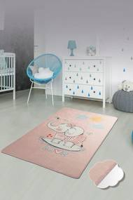 Covor pentru copii Lovely Roz - 140 x 190 cm