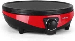 Klarstein Madame & Monsieur CrepeMaker 1000W Teigrechen gama 30cm roșu