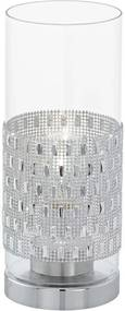 Eglo 94619 - Lampa de masa TORVISCO 1xE27/60W/230V krystaly