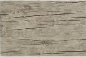 Suport din plastic pentru farfurie Tiseco Home Studio White Wood, 30 x 45 cm