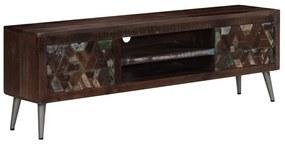 245914 vidaXL Comodă TV, 140 x 30 x 45 cm, lemn masiv reciclat