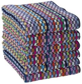 Set prosoape de lucru CAROURI 50 x 90 cm 6 buc