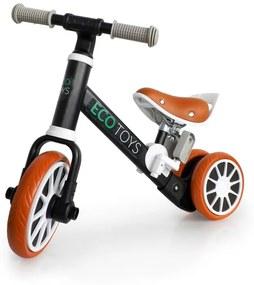 Tricicletă copii 2in1 Black Style